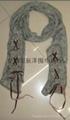 花丝棉铆钉围巾