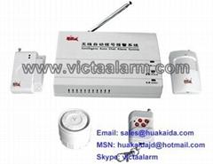 Auto dial Wireless burglar Alarm System