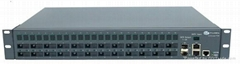 Triple Play Multiplexed CATV Fiber Optic Ethernet Switch