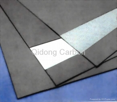 graphite composite sheet - manufacture