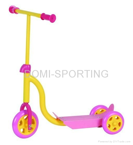 Plastic scooter Tri-scooter for kids 1