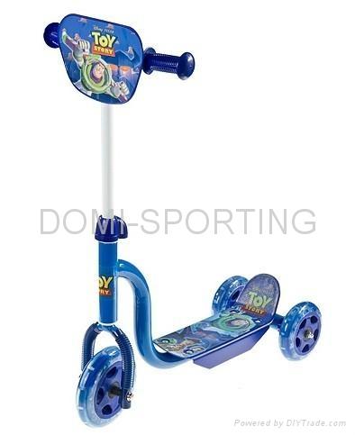 kids' plastic three wheels scooter  1