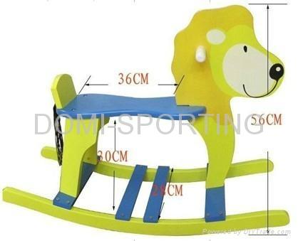 wooden rocking-horse 2