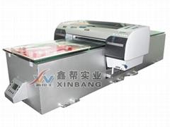 在PVC表面噴印彩色圖案機器