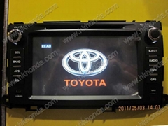 car dvd radio for 2009-2010 sienna sequoia