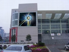 P16 LED video screen for outdoor advertising