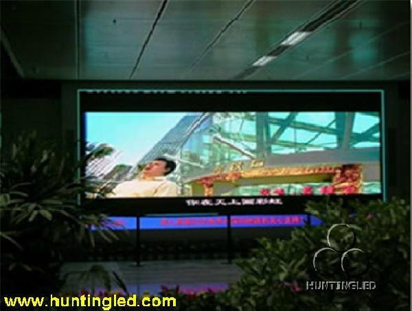 P7.62 indoor led video screen 1