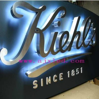 Back Light Led Channel Letter Sign Angrand China