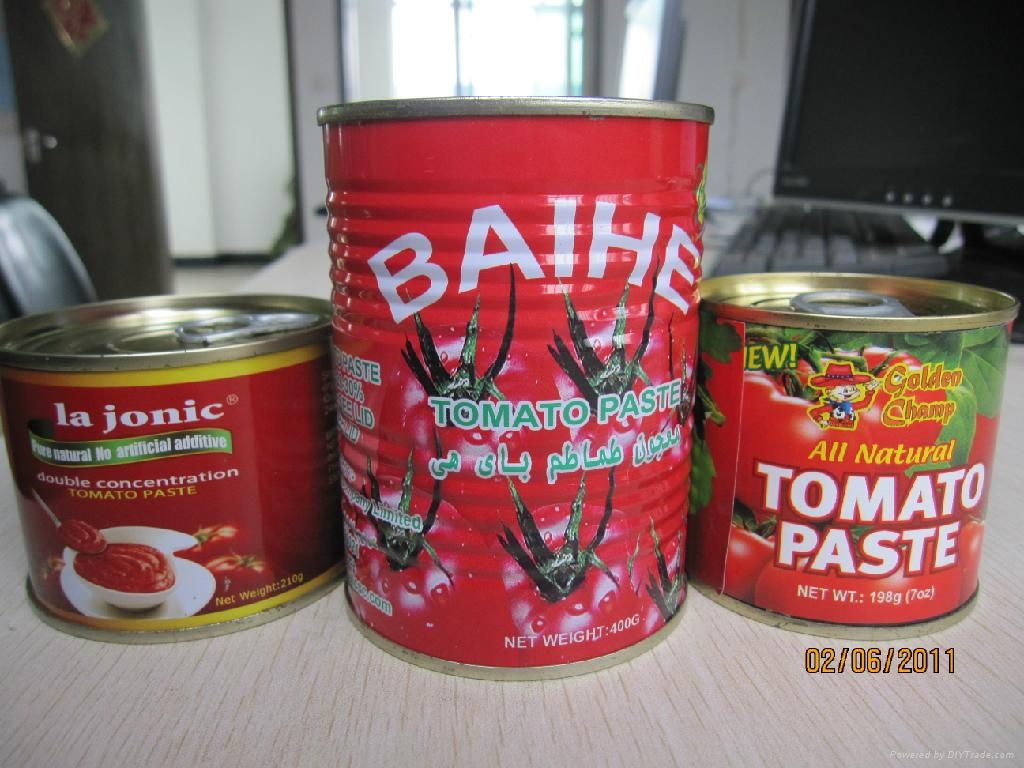 tin 70g tomato paste 28-30 by strong manufacturer export Africa,Europe 2