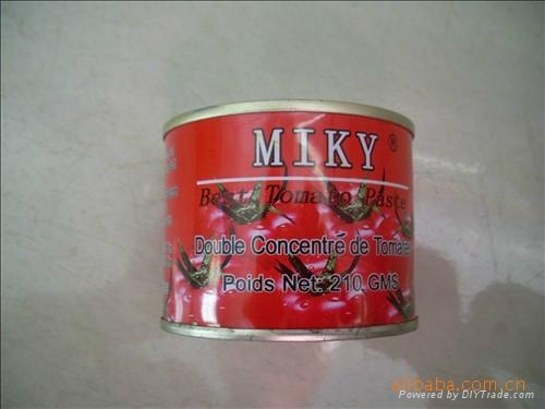 produce and export 210g tomato paste double concentration 28-30 5
