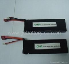 30c 11.1v 2200mah Li-Polymer Battery