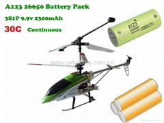 9.9v 2300mah RC Aircraft Battery Pack
