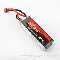 New listing of Scorpion Series of Lithium-polymer battery2200mah/45c/4c