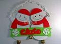 EVA 雙面聖誕雪人吊飾