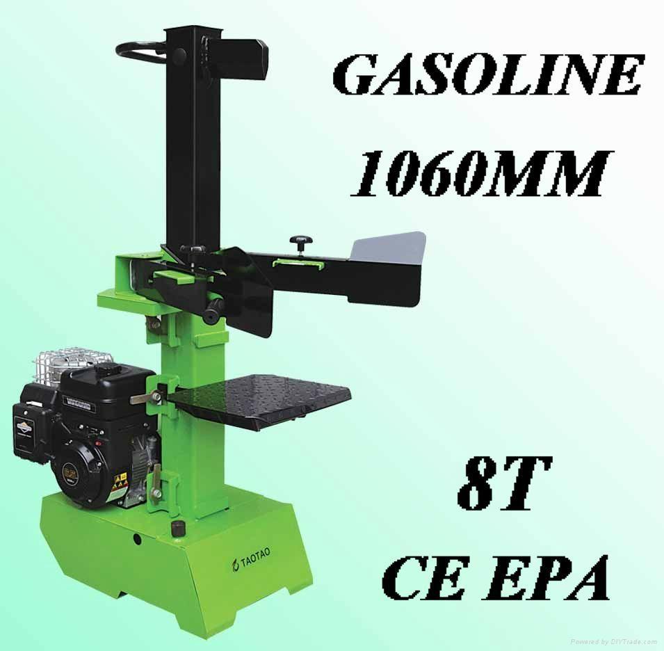 8ton vertical gasoline log splitter jt g8t taotao china