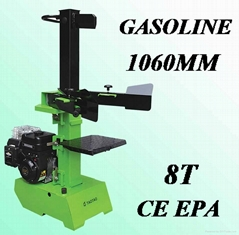 8ton vertical gasoline log splitter