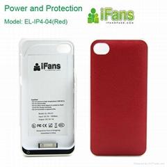 for apple iphone 4 时尚超薄 外挂电池
