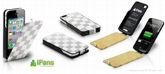 for iphone 4 accessoriese portable battery cover case
