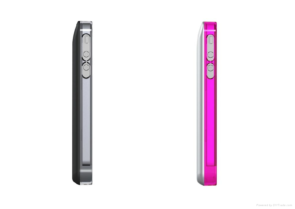 Hot &stylish rechargeable  iphone4s battery case 2