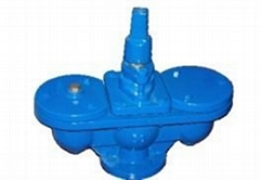 CAST IRON OR DUCTILE IRON AIR VALVE DOUBLE BALL