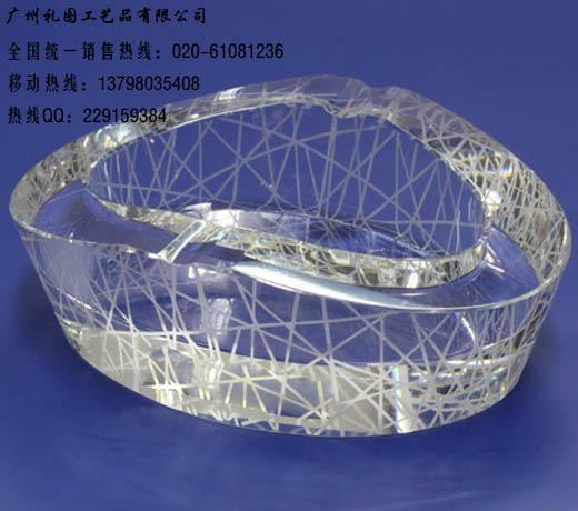 水晶鸟巢烟灰缸 1