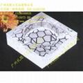 水晶鸟巢烟灰缸 2