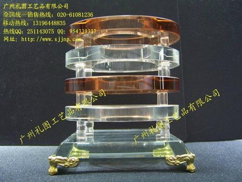 水晶笔筒 2