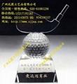 乒乓球赛优胜奖水晶奖杯 3