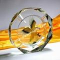 水晶鸟巢烟灰缸 5