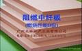 B級阻燃中密度纖維板