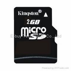 kington 2GB micro sd card class 4 Memory Cards
