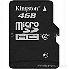 kington 4GB micro sd card class 4 Memory Cards