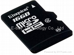 kington 16GB micro sd card class 4 Memory Cards