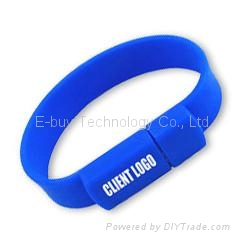 Professional Supplier of Bracelet 2GB usb flash drive