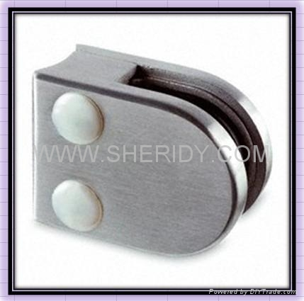 Stainless Steel Glass Clamp 1