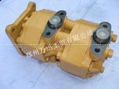 生产小松WA420装载机齿轮泵705-22-40070