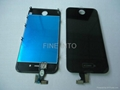 For iPhone 4 4G  front Assembly with LCD+Screen digitizer+ Bezel(AT&T/GSM