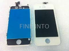 Touch digitizer Assembly + Replacement LCD iPhone 4gs white