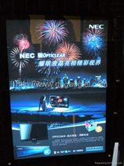 NEC液晶電腦廣告宣傳背光源冷光片