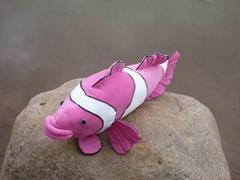 海乐园新仿真粉色丑丑鱼