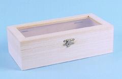 unfinished wood wine box