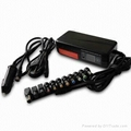 120W Universal Laptop AC Adapter for Car