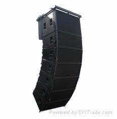 3-way line array speaker