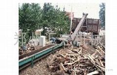 木材粉碎机生产线