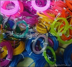 multicolour el wire for gift
