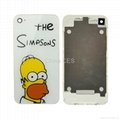 The Simpsons Battrey Cover for iPhone 4G