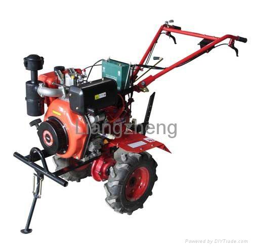 Tractor Tiller Product : Power tiller tractor liangzheng china manufacturer