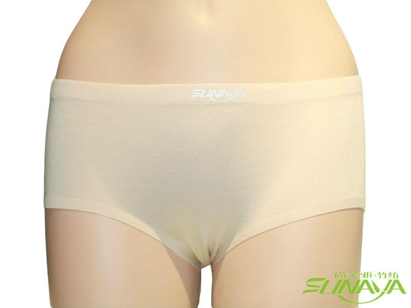 竹纤维女士内裤 1