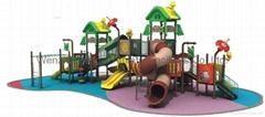 green outdoor playground