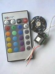 RGB3W射燈控制套